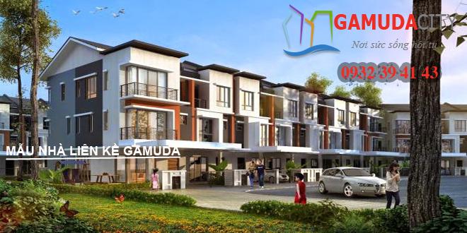 Hình thiết kế: Mẫu biệt thự liền kề Gamuda Gardens 118m2