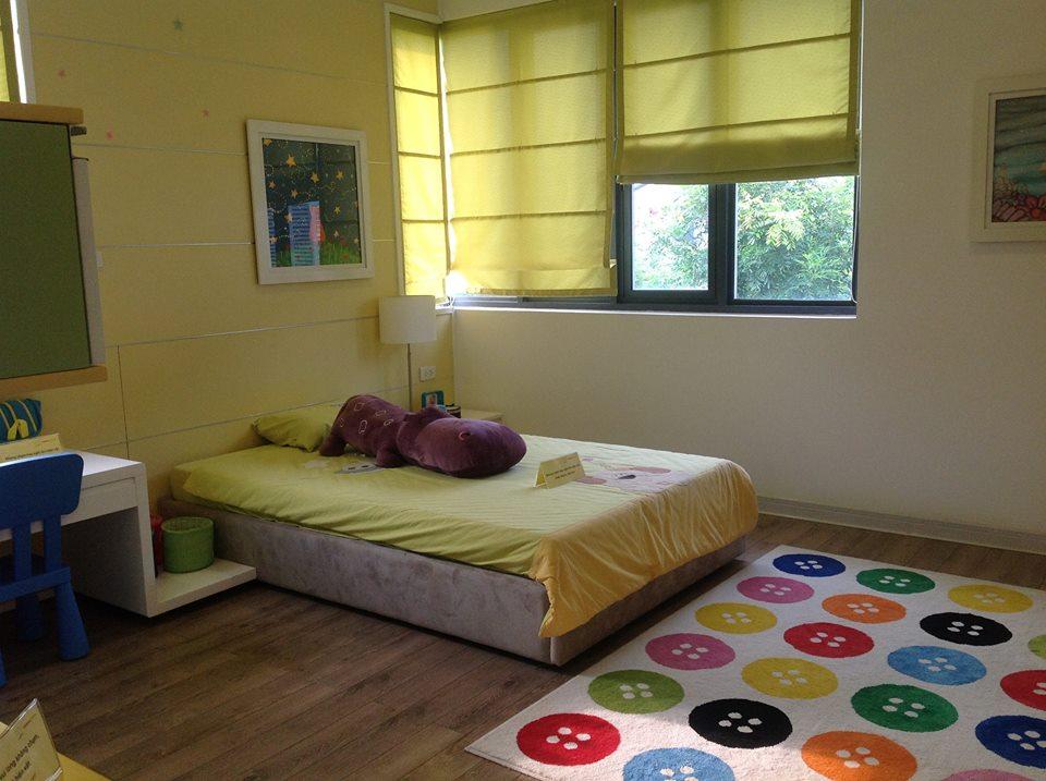 Mẫu phòng ngủ dành cho trẻ nhỏ