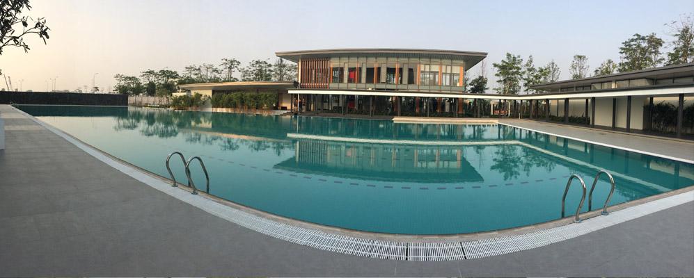 Bể bơi ngoài trời Gamuda Garden