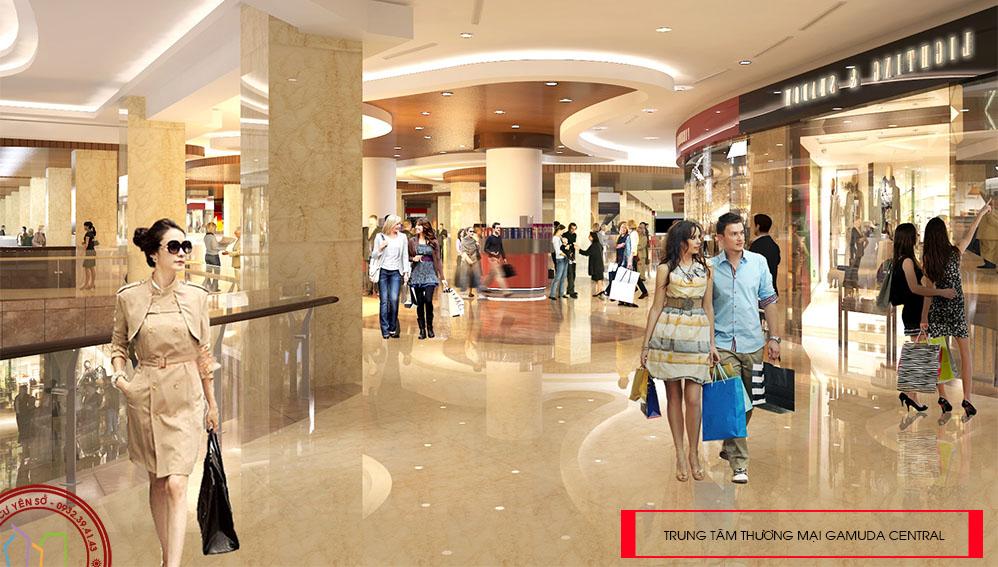 Trung tâm thương mại Gamuda Central