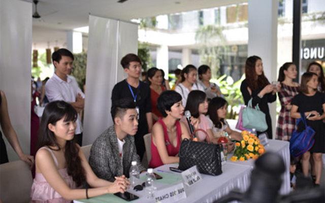 Họp báo giới thiệu Vietnam's Junior Fashion Week