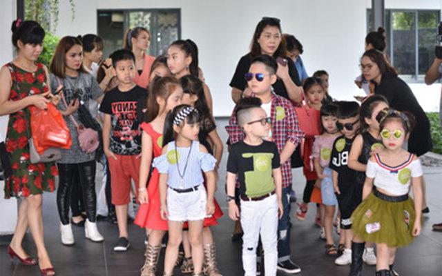 Siêu mẫu nhí tham dự tuần lễ thời trang trẻ em