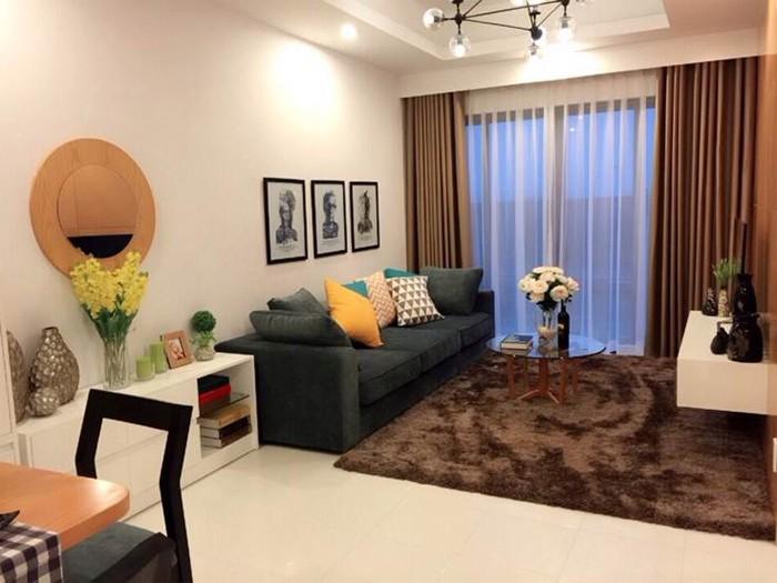 Không gian nhà mẫu chung cư Gamuda