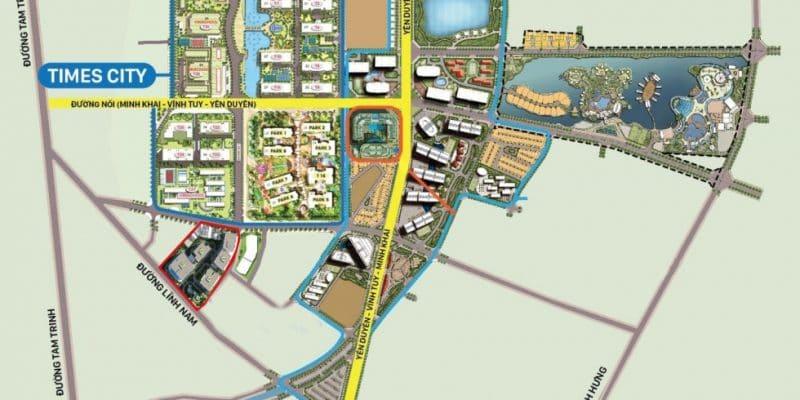 Quy hoạch chi tiết tuyến đường Vinh Tuy - Minh Khai - Yên Duyên